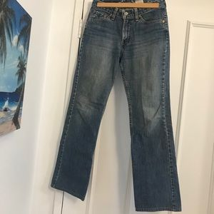 👖LEVI'S Boot Cut Slightly Distressed Jeans👖